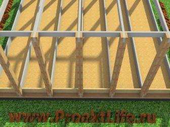 технология строительства каркасного дома - Технология строительства каркасного дома -  конструктор черновой пол 336x252