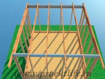 Каркасная баня-с-односкатной-крышей-18