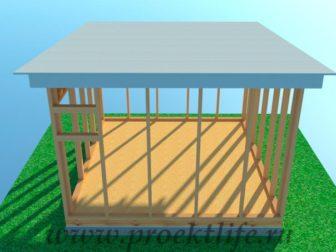 каркасная баня-с-односкатной-крышей-20