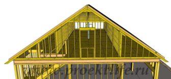 Каркасный гараж - Каркасный гараж на две машины фото -  гараж на две машины 17 336x155