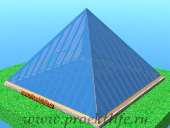 теплица-пирамида-своими руками