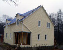 Фотоотчёт о строительстве каркасного дома-фото