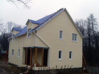 фото, как построить каркасный дом