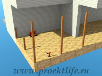 Как построить веранду своими руками?
