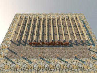 дачный домик - Дачный домик-пошаговая технология строительства -  ДОМИК ЛЕЖНИ 336x252