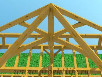 Каркасный дом из бруса - Как построить каркасный дом из бруса -  дом из бруса 12 336x252