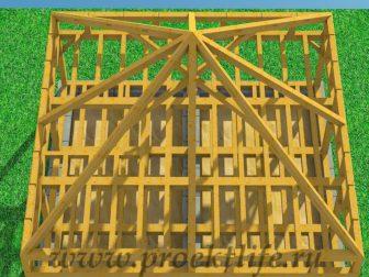 Каркасный дом из бруса - Как построить каркасный дом из бруса -  дом из бруса 13 336x252