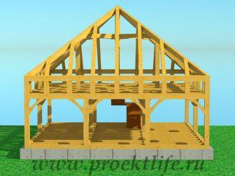 Каркасный дом из бруса - Как построить каркасный дом из бруса -  дом из бруса 15 336x252