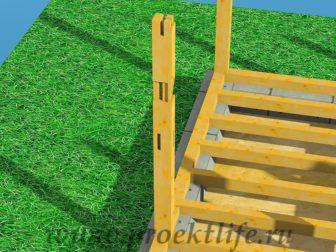 Каркасный дом из бруса - Как построить каркасный дом из бруса -  дом из бруса 4 1 336x252