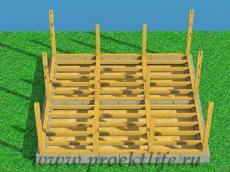 Каркасный дом из бруса - Как построить каркасный дом из бруса -  дом из бруса 4 336x252