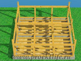 Каркасный дом из бруса - Как построить каркасный дом из бруса -  дом из бруса 5 336x252