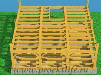 Каркасный дом из бруса - Как построить каркасный дом из бруса -  дом из бруса 8 336x252