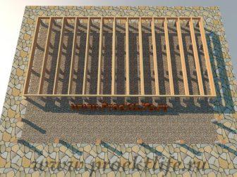 дачный домик - Дачный домик-пошаговая технология строительства - НИЖНЯЯ ОБВЯЗКА ДАЧНОГО ДОМА 336x252