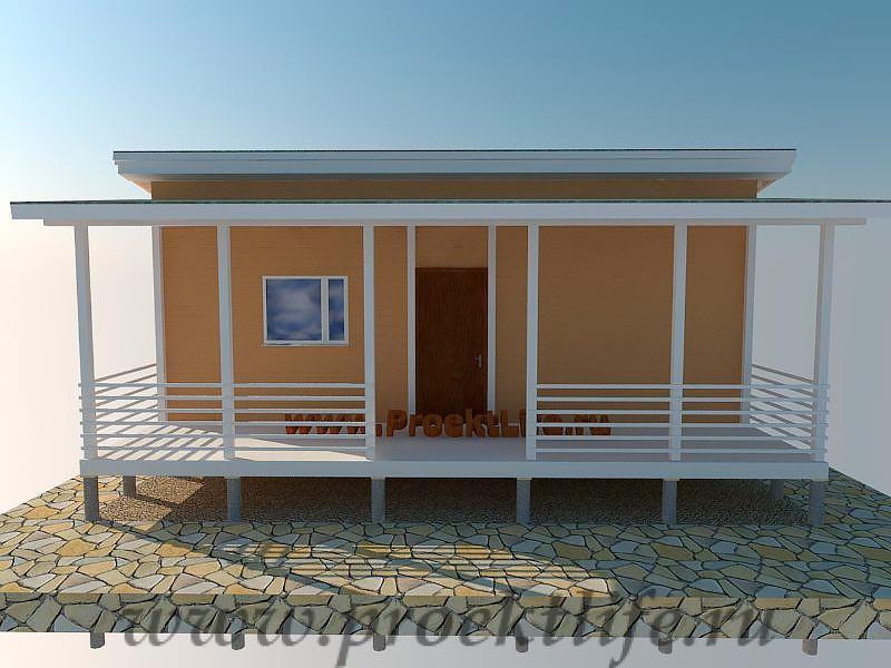 Дачный домик-пошаговая технология строительства