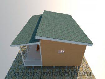 дачный домик - Дачный домик-пошаговая технология строительства - 336x252