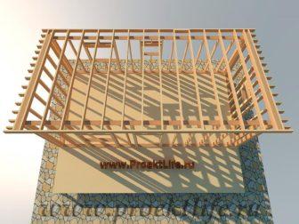 дачный домик - Дачный домик-пошаговая технология строительства -  крыши 336x252