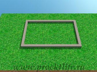 Современная беседка с плоской крышей фото