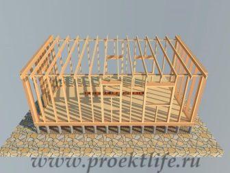дачный домик - Дачный домик-пошаговая технология строительства - система 336x252