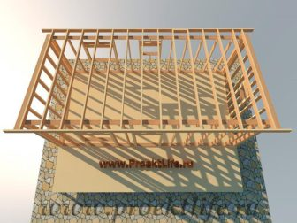 дачный домик - Дачный домик-пошаговая технология строительства -  планки 336x252