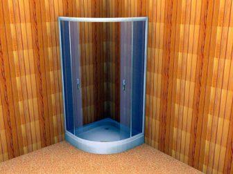 Душевая кабина в баню