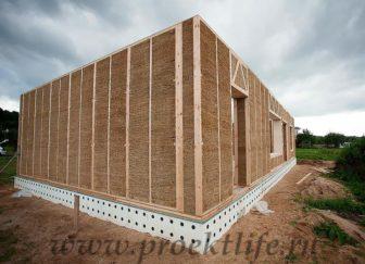 ЭкоДом - Как построить энергоэффективный ЭкоДом -  соломой каркасного дома 336x243