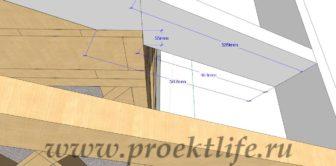 Каркасная банька 3*4 рабочий проект