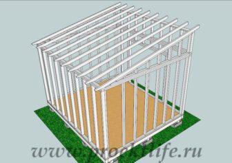 сарай своими руками - Как построить сарай своими руками -  336x237
