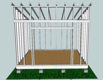 сарай своими руками - Как построить сарай своими руками -  336x261