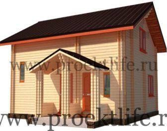 Двойной Брус дом