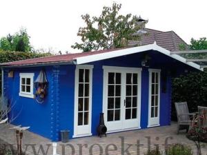 Садовые деревянные домики из бруса под ключ - Садовые деревянные домики из бруса под ключ: комфорт по доступной цене - 24 300x225