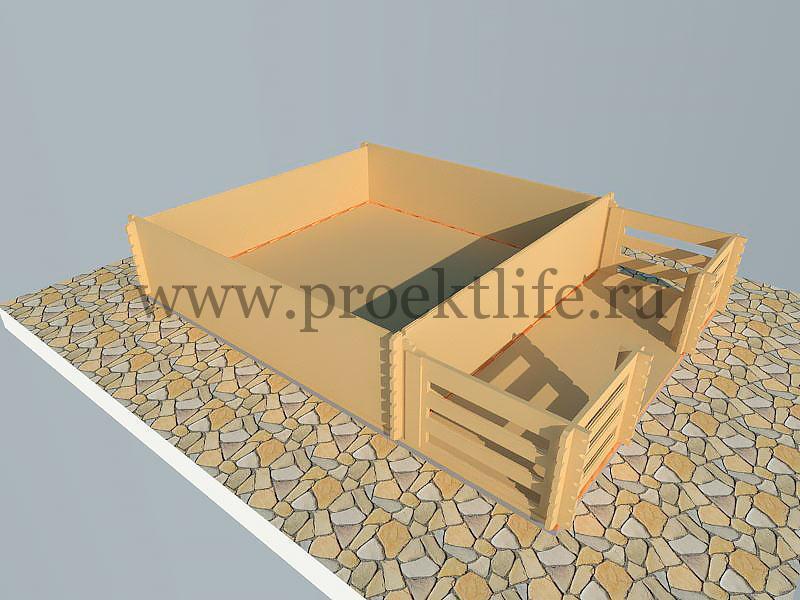 комплект дачного домика для самостоятельной сборки