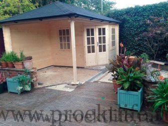 Садовый дачный домик