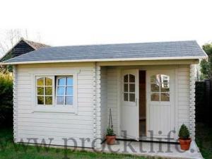 Садовые деревянные домики из бруса под ключ - Садовые деревянные домики из бруса под ключ: комфорт по доступной цене -  домик Берта 3 300x225