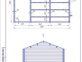Рабочий проект дачного дома Комфорт 2