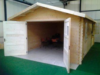 """деревянный гараж """"Канзас"""" цена"""