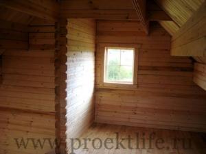 """Дачный домик из бруса """"Дачник"""""""