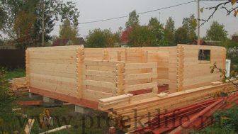 """Дачный домик """"Адажио"""" процесс строительства"""