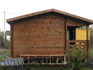 Строительство дачного домика Адажио 1