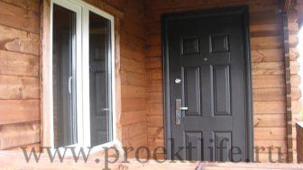 """Дачный домик """"Адажио"""" двери и окна"""