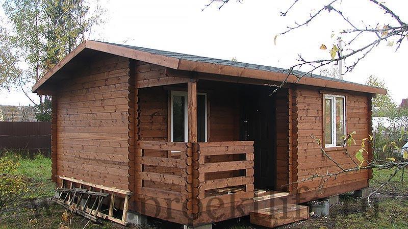 Дачный домик Адажио общий вид