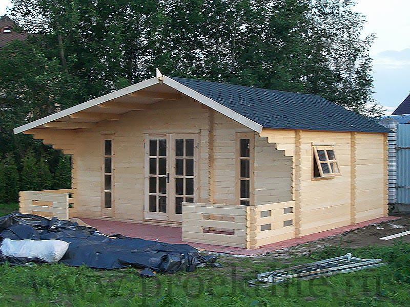 Садовые деревянные домики из бруса под ключ - Садовые деревянные домики из бруса под ключ: комфорт по доступной цене - 4 4