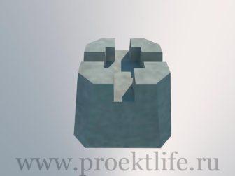 Фундамент - Опорный столбчатый фундамент -  столбчатый фундамент 336x252