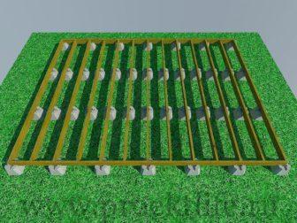 Фундамент - Опорный столбчатый фундамент -  столбчатый фундамент 4 336x252