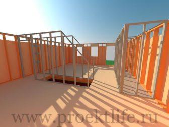 каркасный дом - Как построить каркасный дом -  336x252