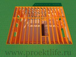 каркасный дом - Как построить каркасный дом -  второго этажа 2 265x200