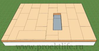 Фундамент каркасного дома-пол
