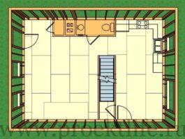 каркасный дом - Как построить каркасный дом -  первого этажа 2 265x200