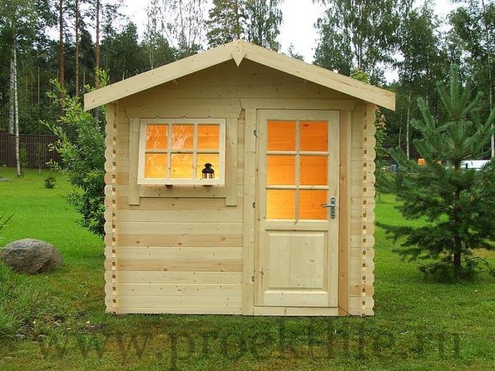 """Садовый домик из мини-бруса """"Мини"""""""