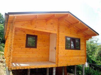 """деревянный дом для дачи """"Рикардос"""""""