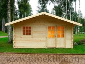 Садовые деревянные домики из бруса под ключ - Садовые деревянные домики из бруса под ключ: комфорт по доступной цене - 1 5 300x225